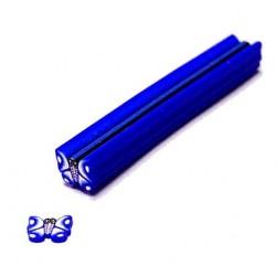 Fimo Schmetterling blau