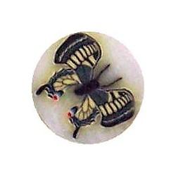 Fimo Schmetterling bunt #3