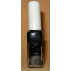 Stamping Lack schwarz - längliche Flasche
